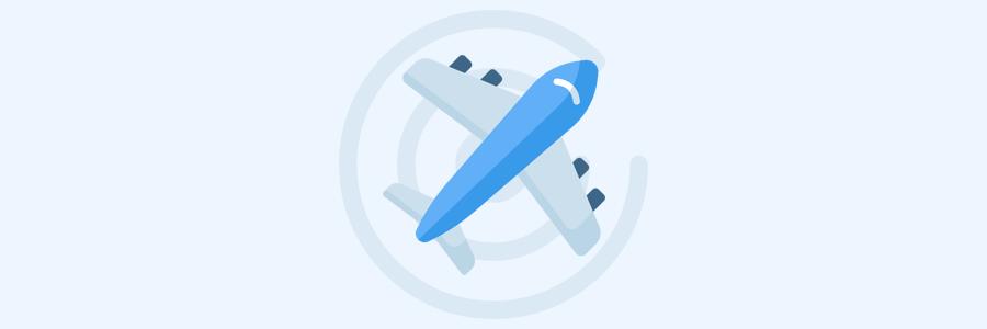 Live vliegtuig volgen in de lucht tijdens de vlucht!